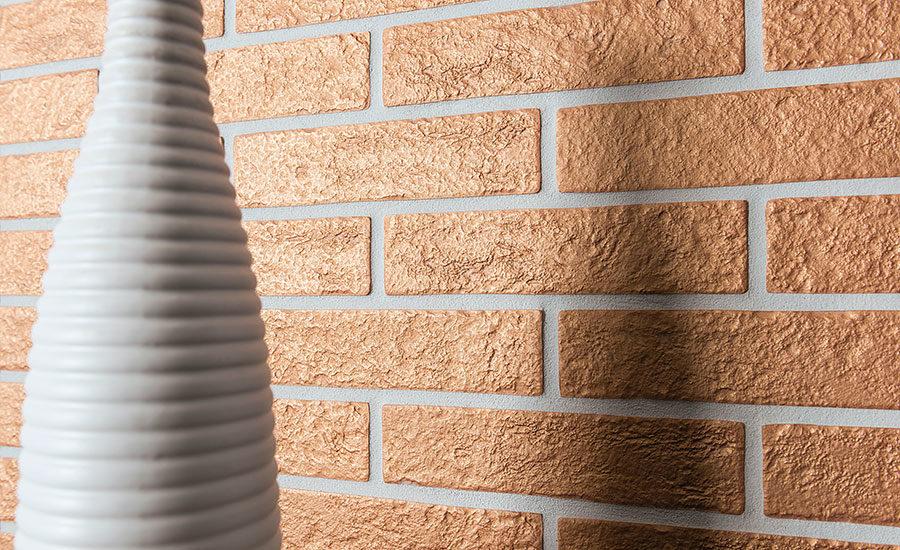 Ceramica rondine brick generations venice copper