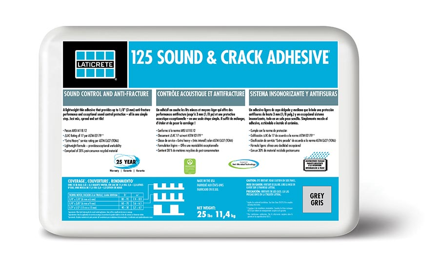 Laticrete® 125 Sound & Crack Adhesive
