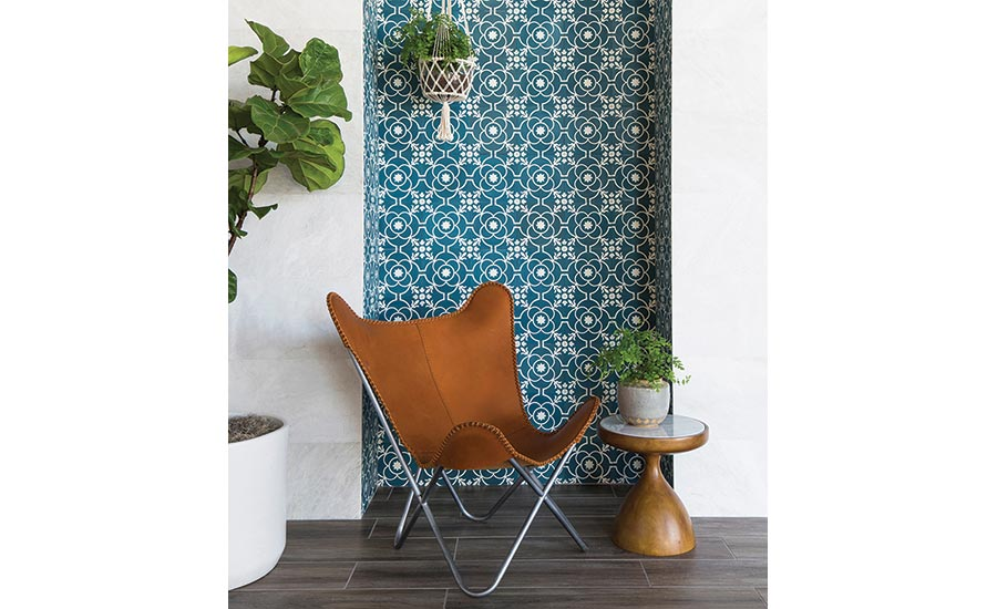 Remy, a cement tile collection from Bedrosians