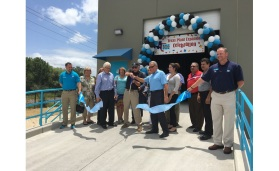 In the middle of June, Laticrete celebrated the expansion of its plant in Grand Prairie, TX.