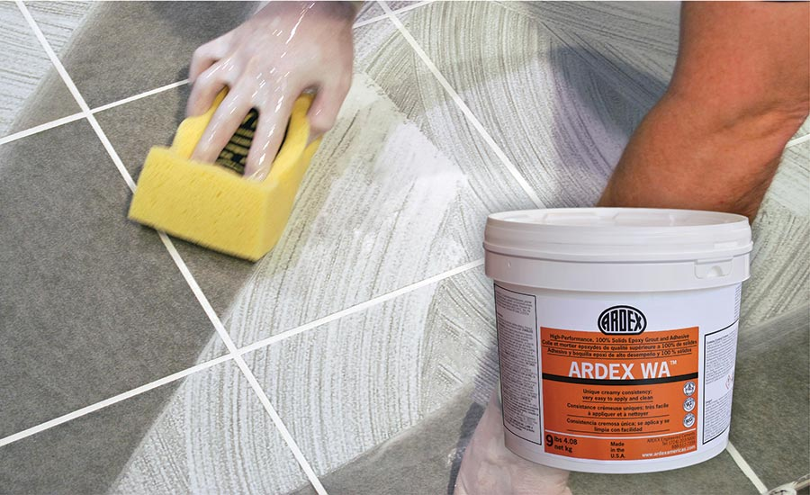 Ardex WA™ high performance, 100% solids epoxy grout and adhesive