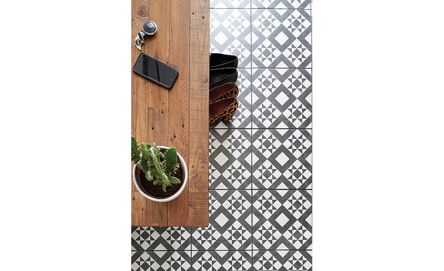 British Ceramic Tile Retro from the Feature Floor collection