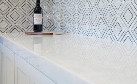 Arizona Tile's stone mesh patterns