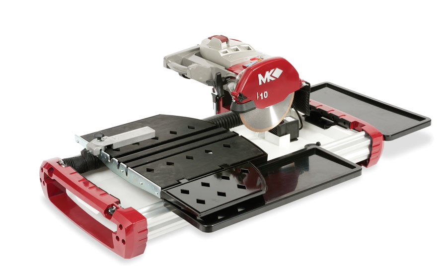 The TX-4 10-inch wet cutting tile saw