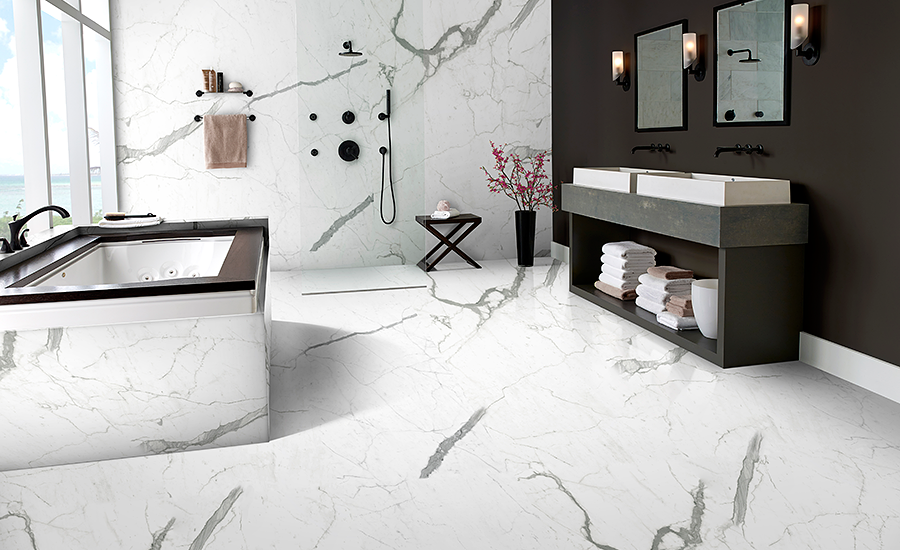 M S International Inc Debuts New Stile Thin Porcelain