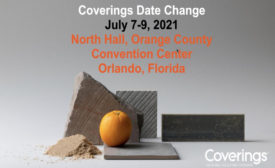 Coverings 2021 new dates