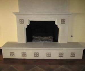 Four Fireplace Tile Design Ideas