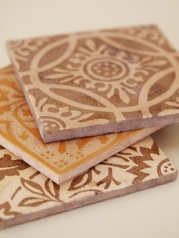 Examples Of Encaustic Tile Made In The U S Image Courtesy Filmore Clark
