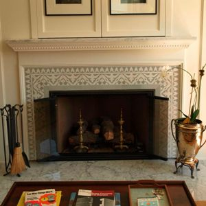 Cement Tile Fireplace Ideas