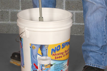 no spin mixing bucket feature