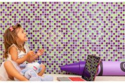 Crayola glass tile collection