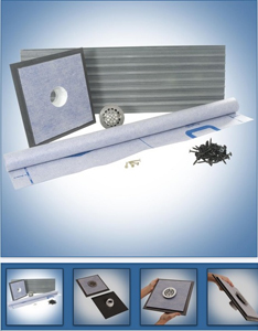 Curbless Shower Pan System