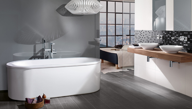 villeroy bochs wellness bathtubs bring beauty to the bathroom - Bathroom Designs Villeroy And Boch