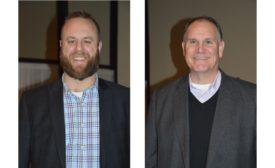 Miles Distributors Doug Miles and John Zolman