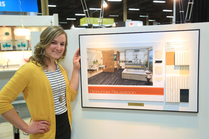 Daltile Interior Design Scholarship winner