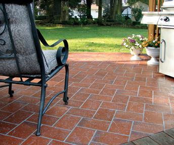 Metropolitan Ceramics Quarry Tile Attains Green Squared