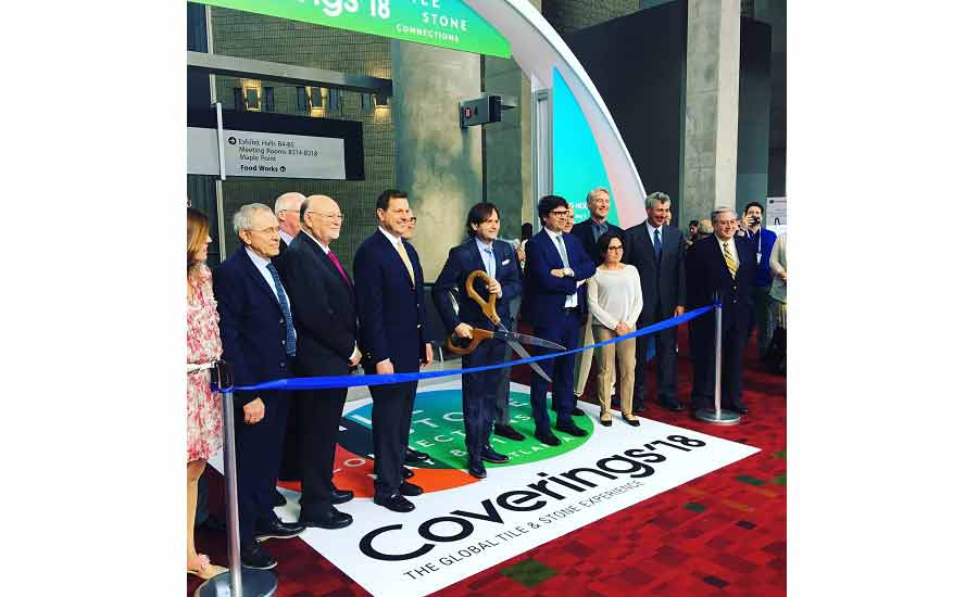Coverins 2018 ribbon cutting ceremony