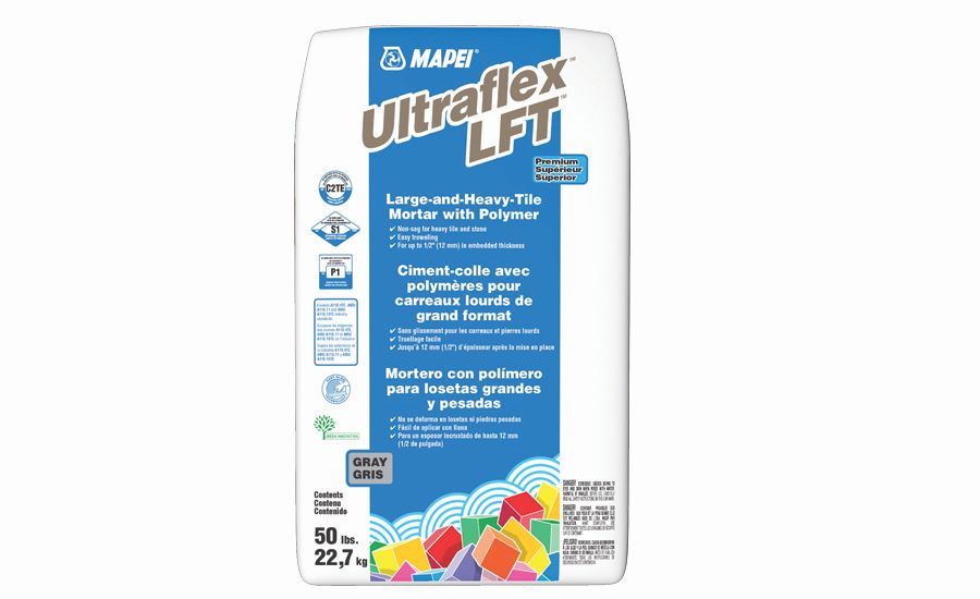Ultraflex LFT Premium, Large-and-Heavy-Tile Mortar with Polymer