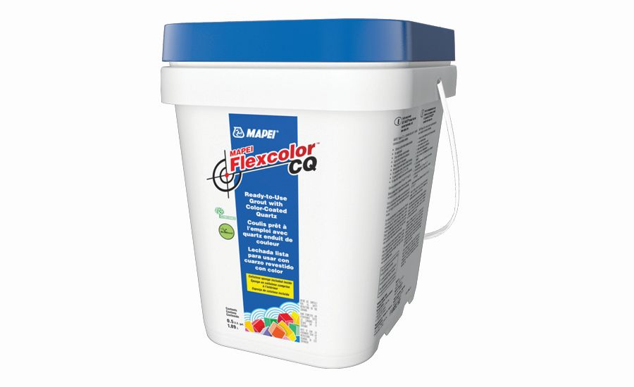 MAPEI Flexcolor CQ Ready-to-Use Grout with Color-Coated Quartz