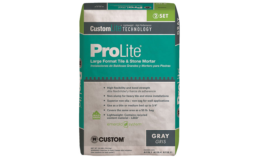 ProLite® Premium Large Format Tile Mortar by Custom Building Products