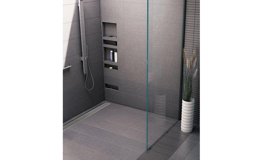 Tile Redi® Redi Trench™ Barrier Free Shower Pan