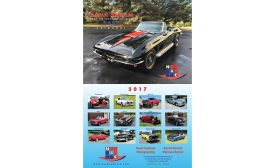 "NAC Products' 2017 calendar ""Classic Vehicles from the Flooring Industry"""
