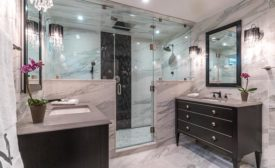 New bathroom of a private residence in Reston, VA