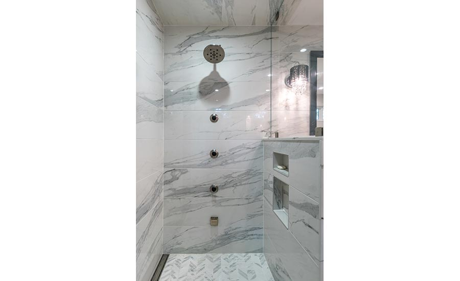 Installation Case Study The New Heart Of The Home 2017 08 01 - Black-and-white-bathroom-york-by-novabell