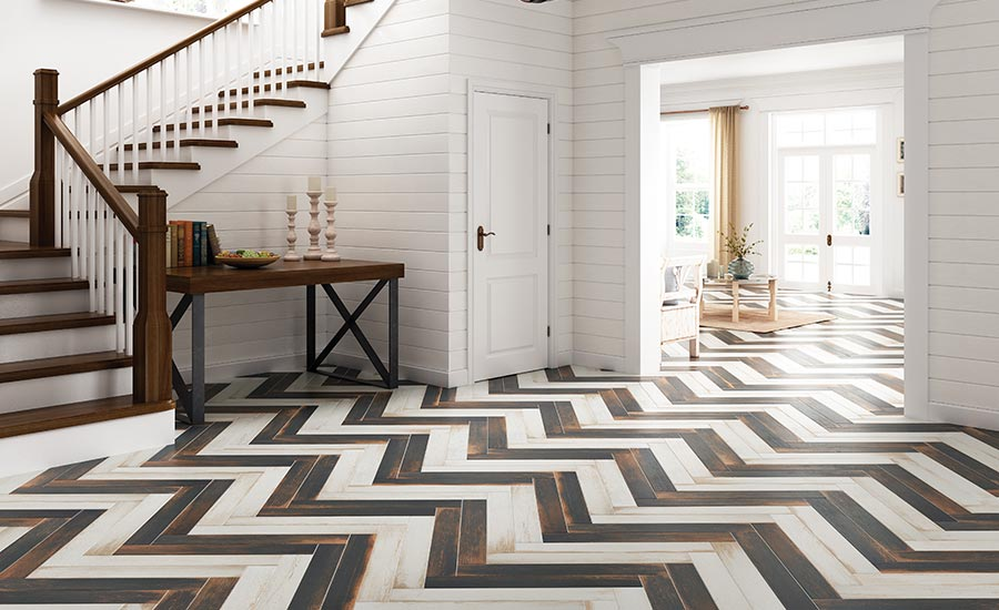 Urban District by Marazzi has wood-look
