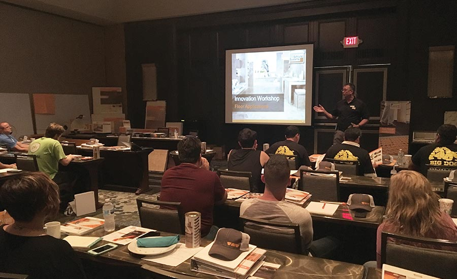 Innovation Workshop Hosted By Schluter Systems