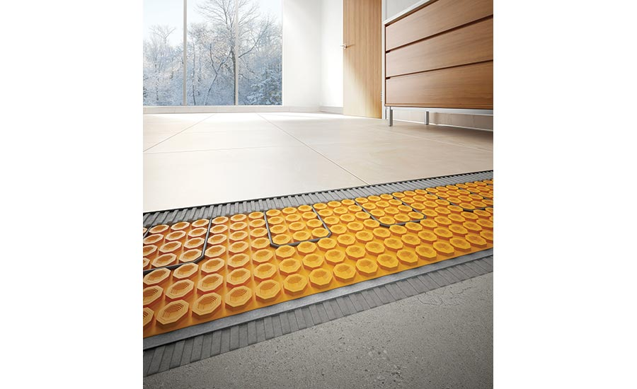 Uncoupling Membranes That Incorporate Floor Warming