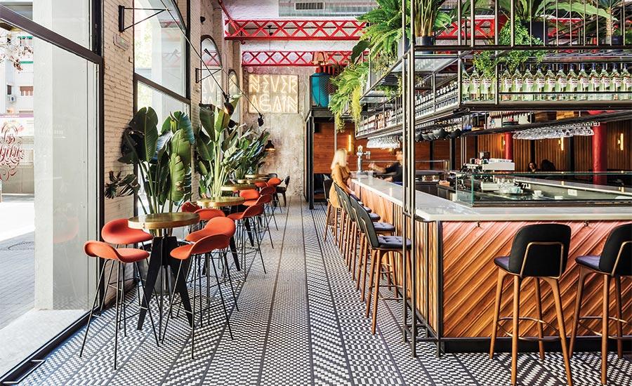 Crafting an Ambiance in Barcelona s El Mama y La Papa Restaurant ... 912c343f624
