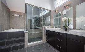 contemporary sanctuary bathroom