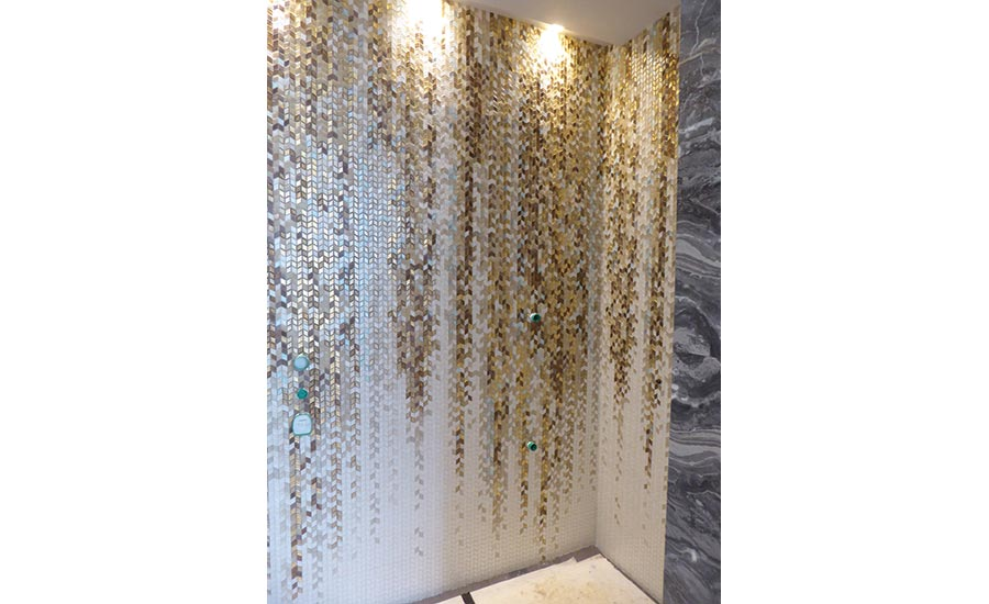 Sicis Handcrafed Mosaics All That Glitters Is Gold 2018