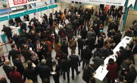 crowd at CNR Expo to attend Unicera