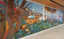 NYCSCA hosted a local design competition to construct a tile mural