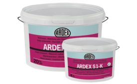 Ardex S 1-K waterproofing and crack isolation membrane