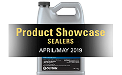 2019 April/May product showcase on sealers