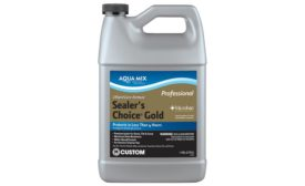 Aqua Mix® Sealer's Choice® Gold from Custom® Building Products