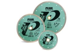 Pearl P4™ ADM™ Reactor™ blades for porcelain from Pearl Abrasive