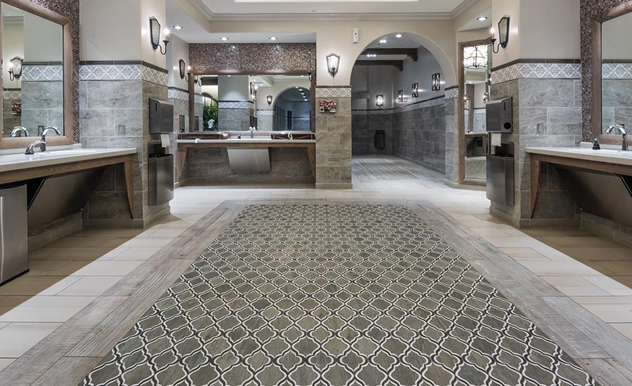 Using the right tile installation product, equipment and procedures