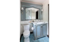 a recent bathroom remodel in Del Mar, CA