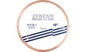 Porcelain tile blade from Zenesis