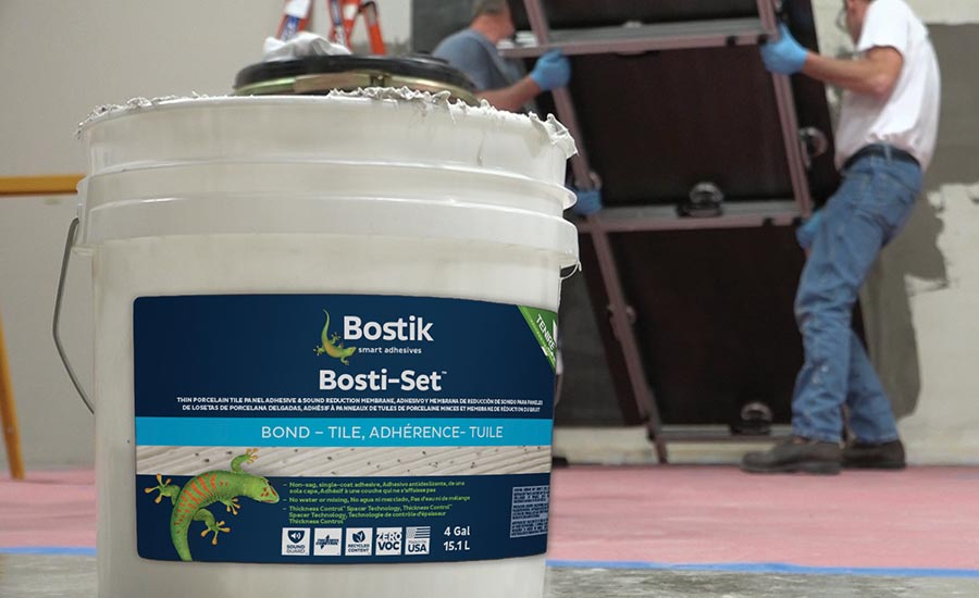 Bosti-Set™ from Bostik | 2019-06-17 | TILE Magazine