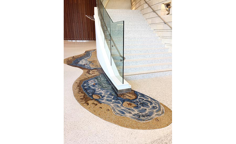 Installation Case Study: Mosaics transform children's hospital