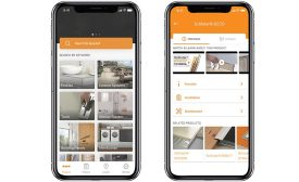 Schluter-App mobile device application