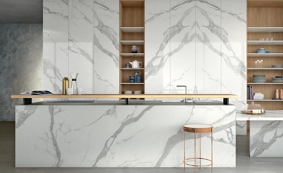 gauged porcelain tile panels slabs