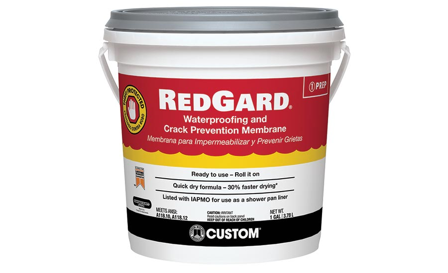 RedGard® Liquid Waterproofing and Crack Prevention Membrane