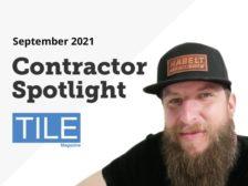 TILE 921 Contractor Spotlight feature photo