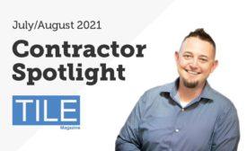 TILE July/August 2021 Contractor Ben Kalkman